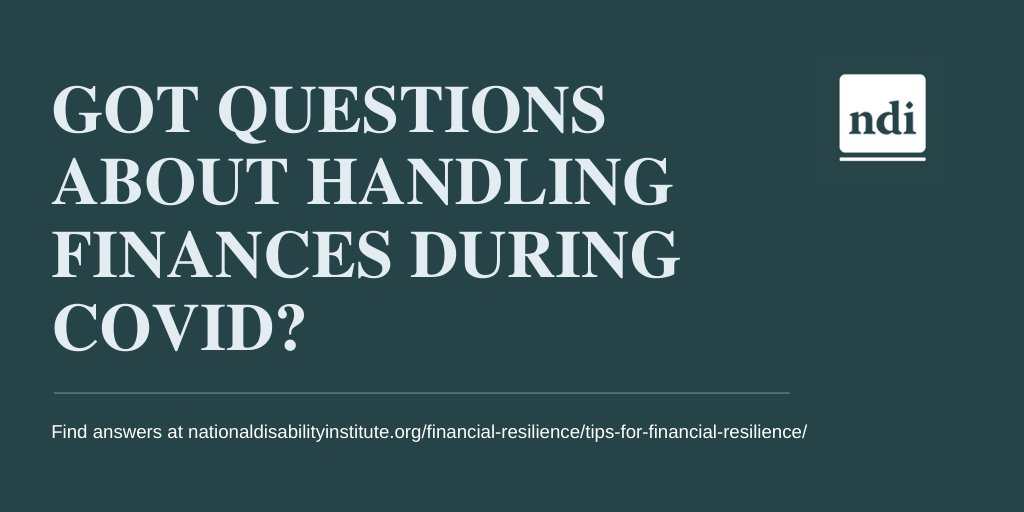 Do you have questions about handling #finances during #COVID19? Find answers at bit.ly/2T7VX7b.