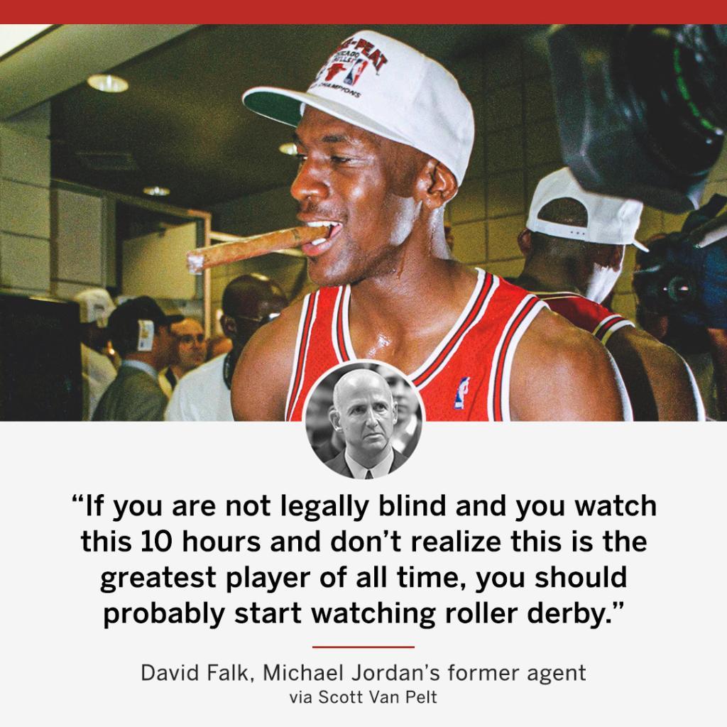 MJ's former agent calls it like he sees it 👀  #TheLastDance (via @notthefakeSVP) https://t.co/0P1UozSvtP