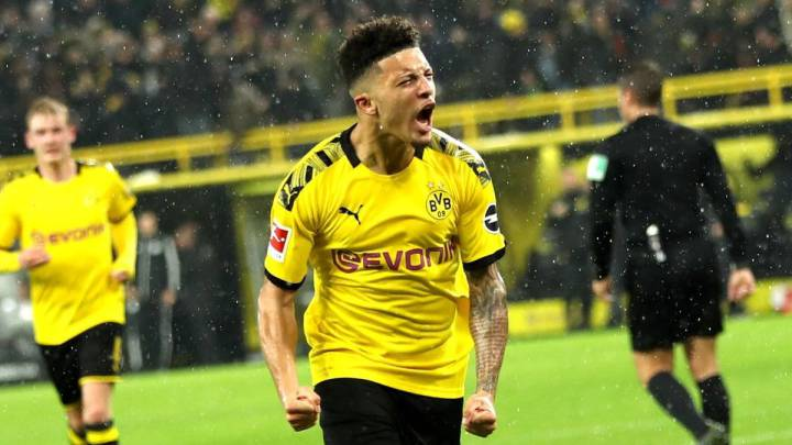 FREE Dortmund shirt? Hit retweet & follow to enter! ⚽️  If Sancho scores tomorrow in the return of the Bundesliga, we are giving away a FREE #BVB shirt to a lucky entrant!  Go! Go! Go! https://t.co/IEYyuGs8X2