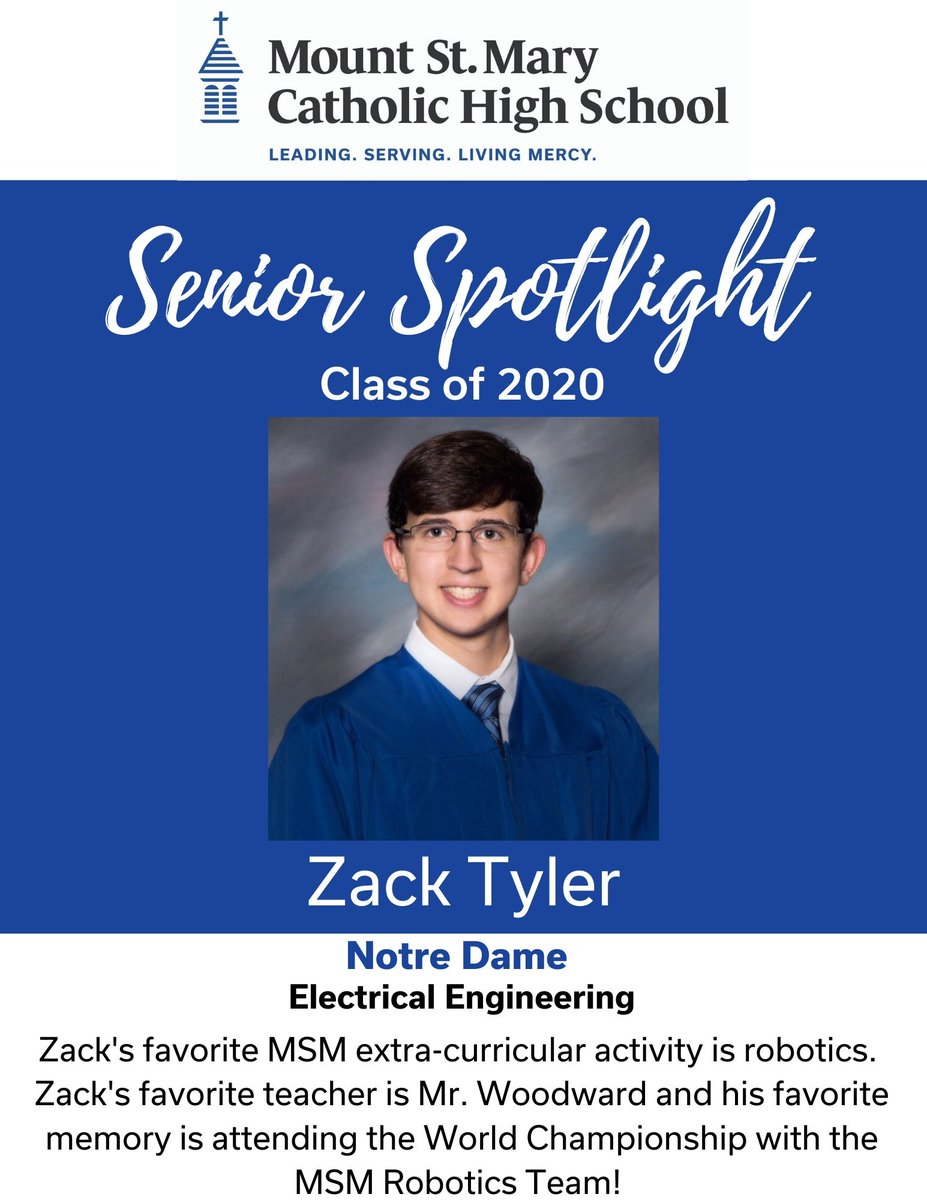 Zack is the co-captain of 2723 and has had a huge impact on growth of the team. He is the mechanical lead and  business lead, helping bring STEM to others in our community and raise funds. He was a FIRST Dean's List Finalist in FTC, too!  He'll do amazing things in the future!