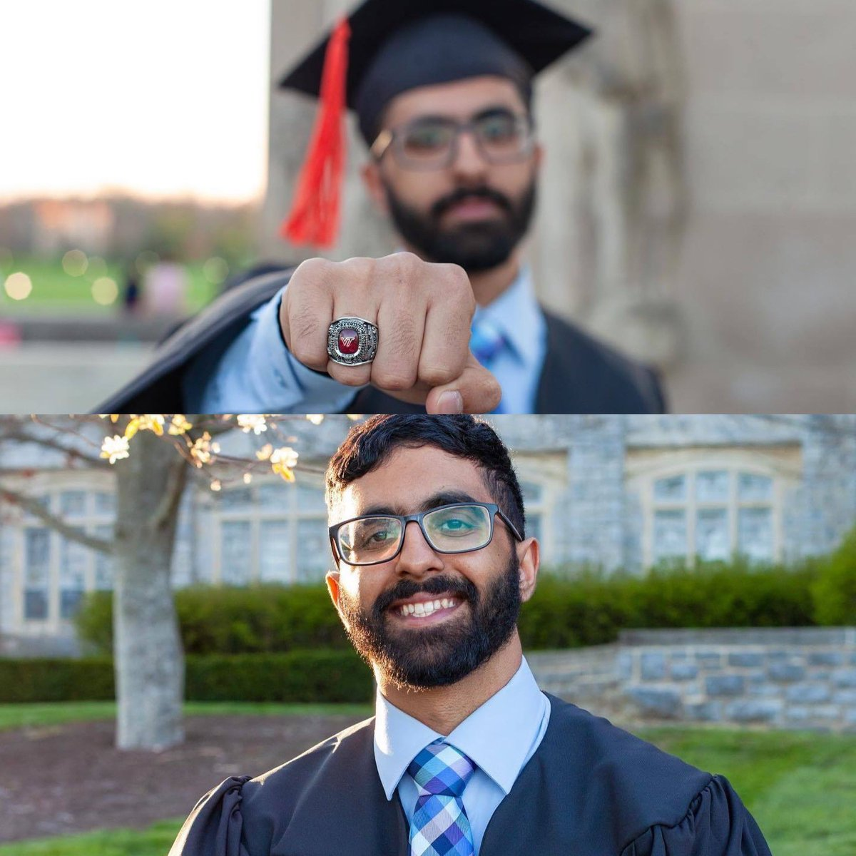 VT First-Gen Graduate Spotlight:  Today, @vt1stgen celebrates Senior Ahmad Ayub, a Computer Science major, on his graduation! We are very proud of you, Ahmad! Congratulations on your exciting next chapter! 🎉🎉 #VTFirstGenGraduate #CelebrateFirstGen
