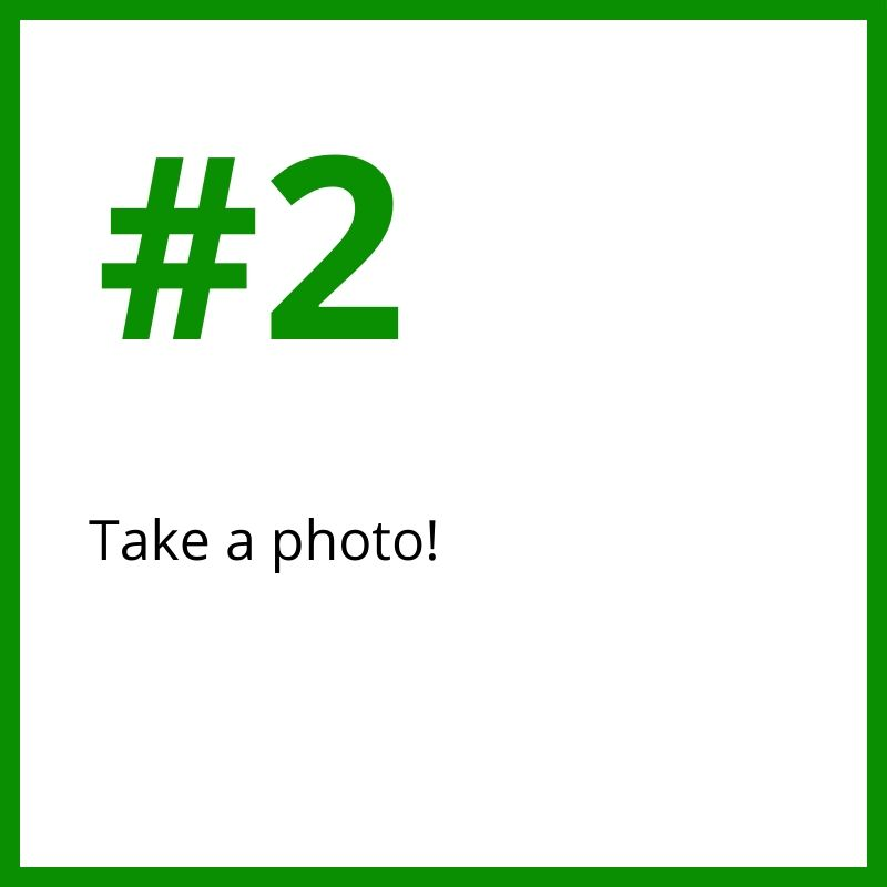 2.Take a photo!