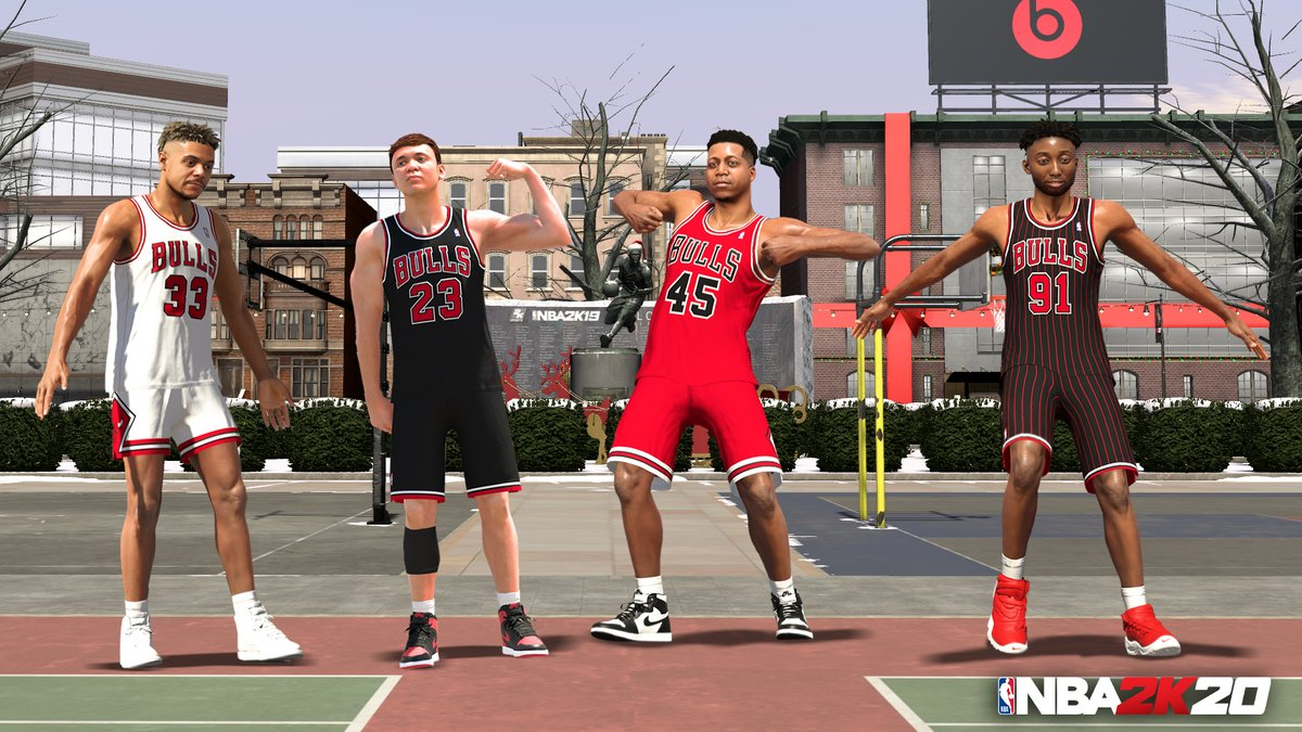 Which Classic Bulls jersey you reppin?  Jerseys and more gear from #TheLastDance Bulls just went live in The Neighborhood https://t.co/CYUcv6YF0z