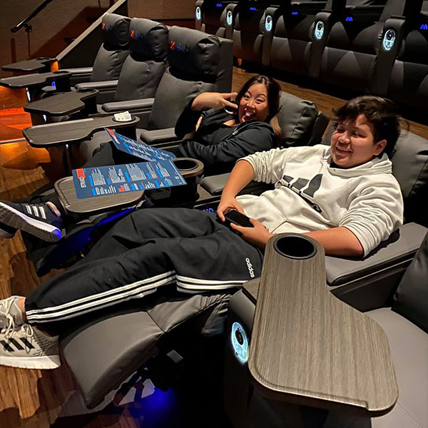 That feeling when you sink into our heated recliners before the movie begins...the way movies are meant to be enjoyed! $4 movies all day, every day. #strikeandreel #movies                   Antonio Topic.twitter.com/H06L67x6Aw