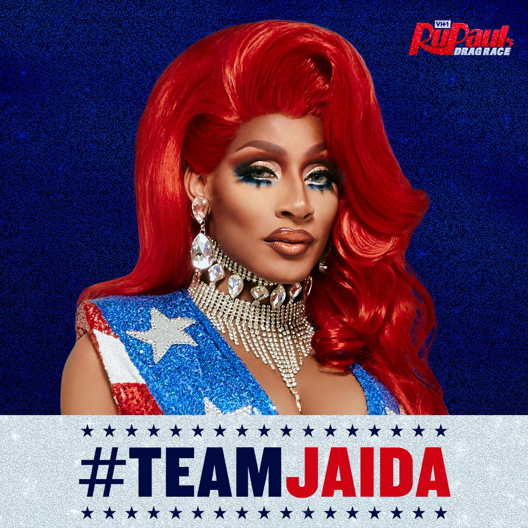 Are you #TeamJaida? Use the hashtag if you want @jaidaehall to snatch the crown! 👑 #DragRace https://t.co/qGwK0ff4xa