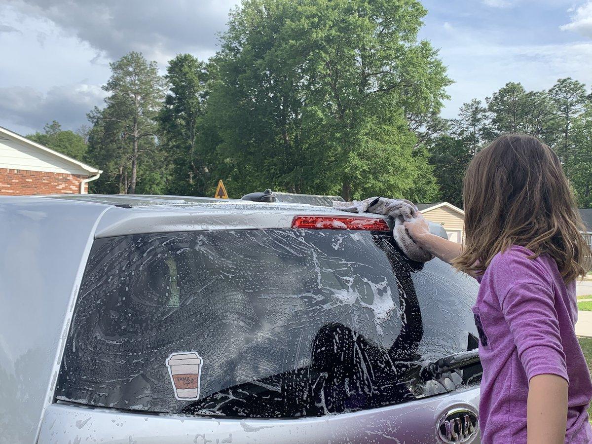 TGIF! Gotta kid washing my car. #winning