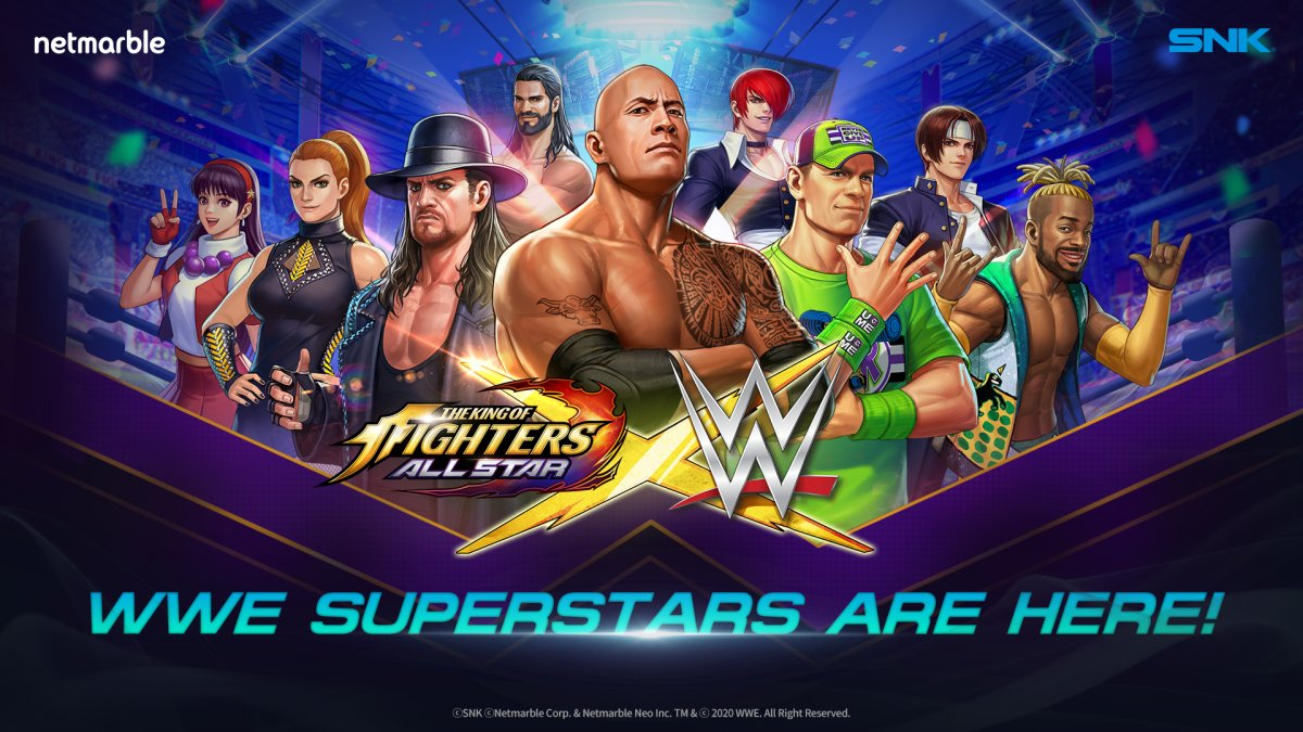 """WWE Announces New """"King Of Fighters"""" Collaboration Details"""