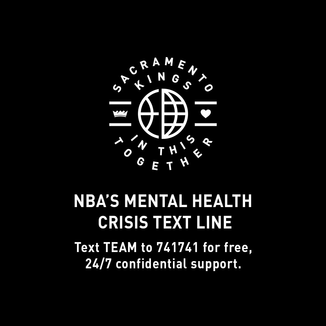 May is Mental Health Awareness Month. If you or someone you know needs help, you can text the Crisis Text Line. 💜   #InThisTogether #NBATogether #MentalHealthAwarenessMonth https://t.co/XKyUbf9k5u