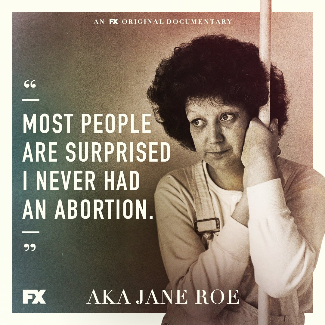 Hear the truth behind her astonishing story. #AKAJaneRoe premieres May 22 on FX, next day #FXonHulu. https://t.co/2tOcqDVbyu