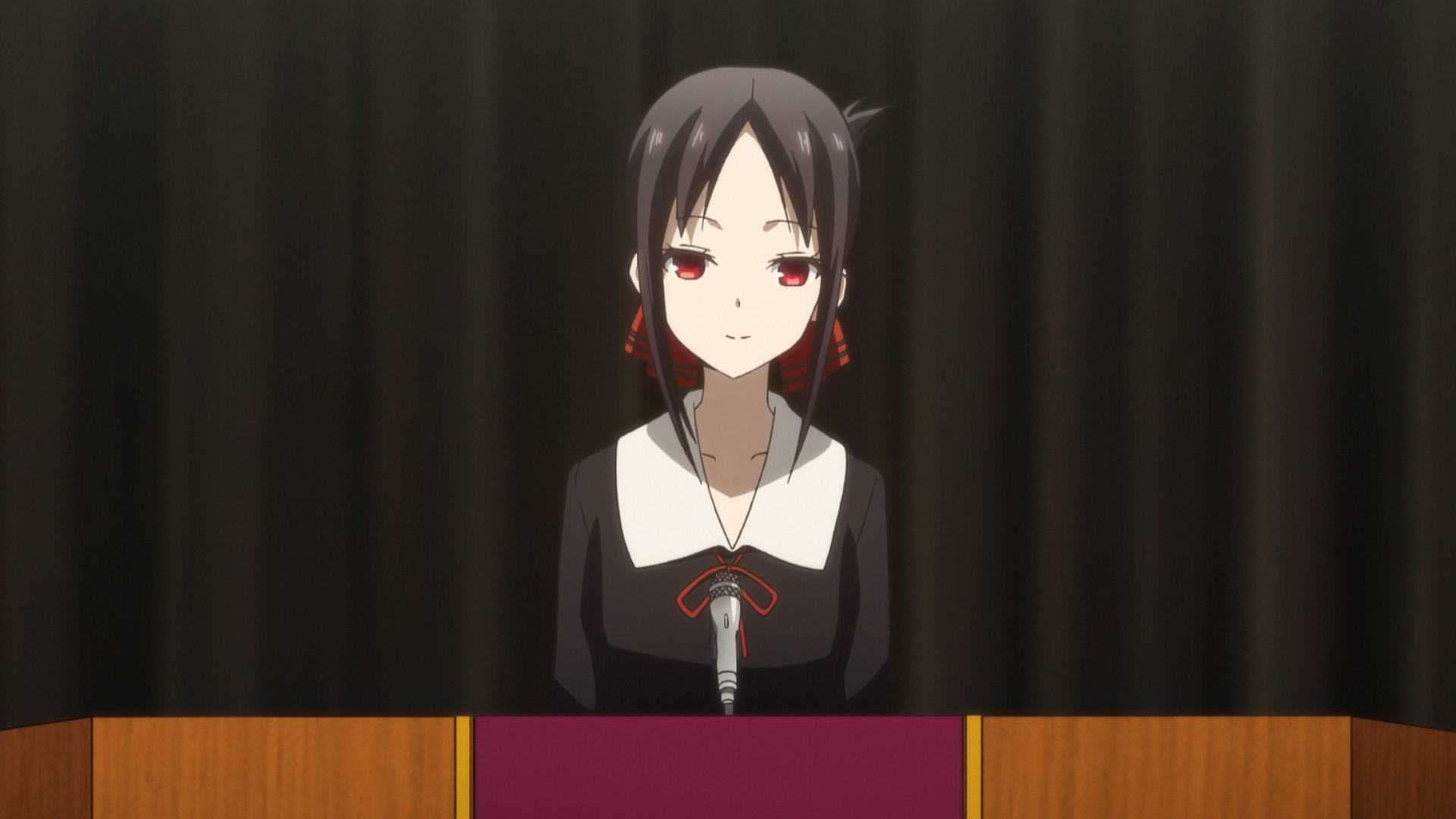 Kaguya Shinomiya in Kaguya Sama love is war season 2 episode 6