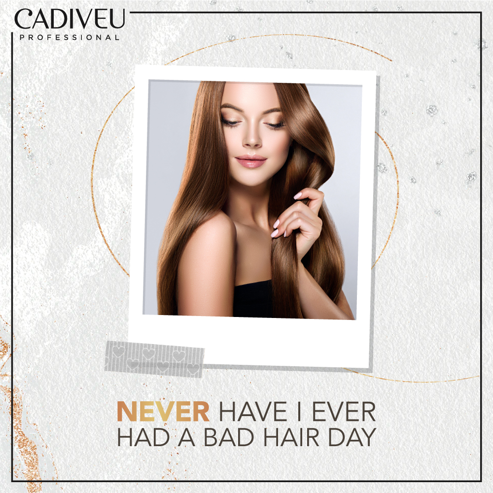 You can never have a bad hair day with Cadiveu  #CadiveuCares #CadiveuProfessional #CadiveuIndia #HairGoals #HairTreatments #HairCare #NourishedHair #SmoothHair #ShinyHair #HairEssentials #GoodHairDays #GoodHairDayEverydaypic.twitter.com/JZybIEXsEj