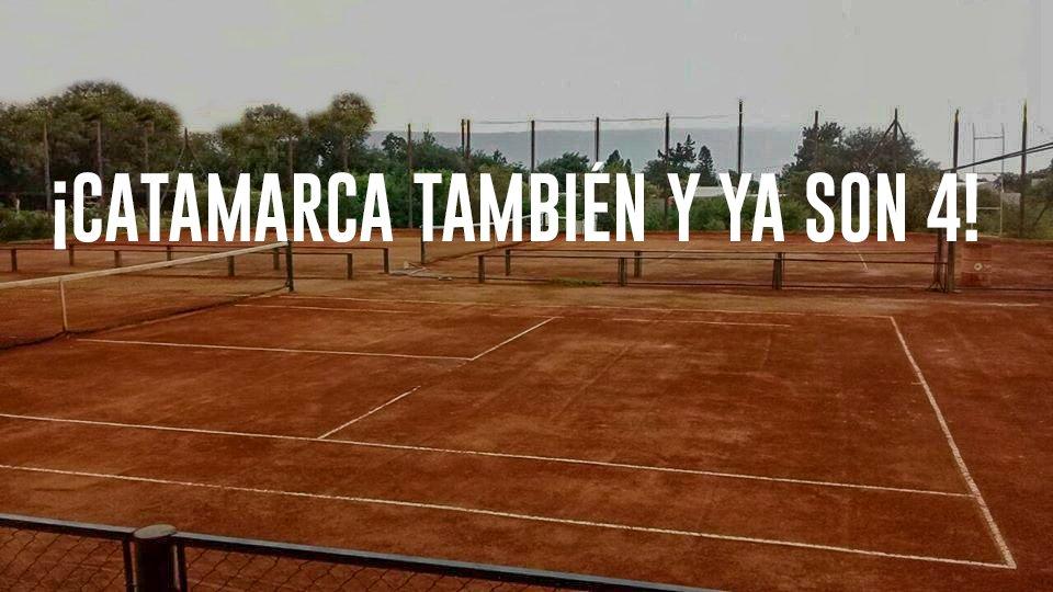 """🔛🎾 Catamarca, la cuarta provincia en retomar la práctica de tenis A partir de este sábado, entre las 8:00 y las 18:00 y con las recomendaciones del Protocolo de la #AAT. 📢@CalleriOk: """"En menos de una semana ya se habilitó el tenis Corrientes, Jujuy, Salta y Catamarca, (...) https://t.co/RK7Y9KY0b6"""