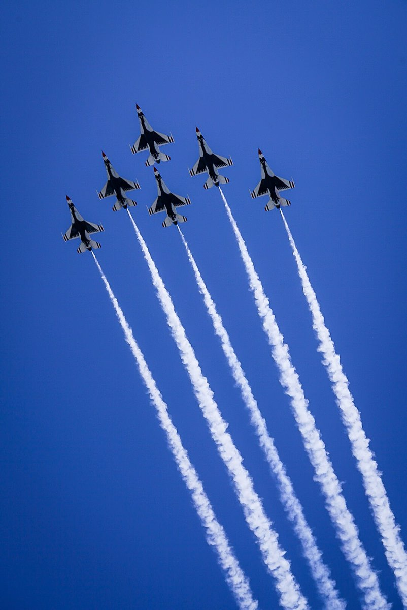 This was good @AFThunderbirds