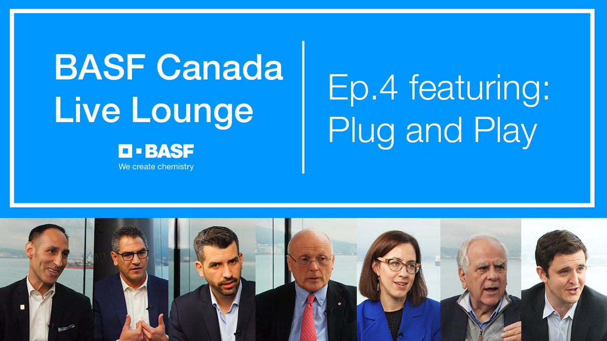 Here's episode 4 of our Live Lounge Series hosted by BASF Canada at #GLOBE2020. Check it out as you get ready for the #longweekend and learn more about how @PlugandPlayTC is committed to #sustainability and #circulareconomy from its CEO @mikezayonc--> https://t.co/95bcftkZtB https://t.co/F8jhi3tncn