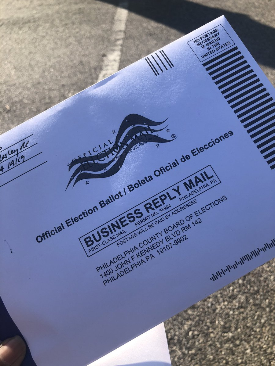 I mailed my ballot. #IVoted #Vote #EarlyAndOften pic.twitter.com/7T0ECtxRJx