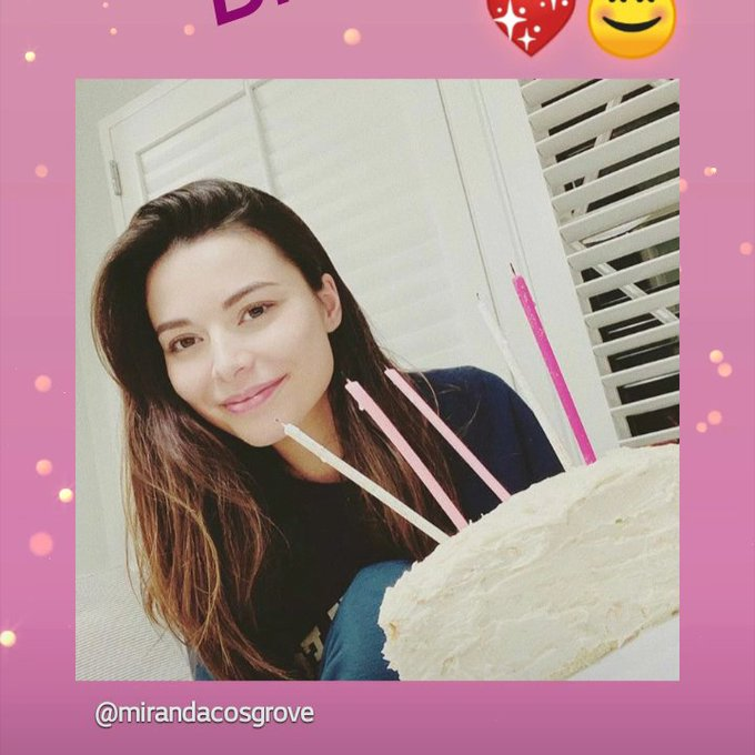 Happy (late) Birthday to Miranda Cosgrove! a.k.a. my childhood TV crush   :)