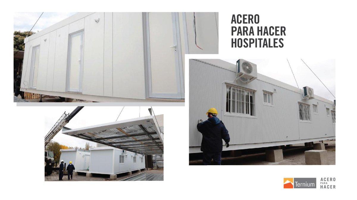 Nuestro cliente @barbierisa, especializado en #steelframing, proveyó materiales para la construcción de módulos sanitarios que permitieron ampliar la capacidad de atención del Hospital L. Melendez en Almte. Brown. https://t.co/H4ID7Gy5Wz