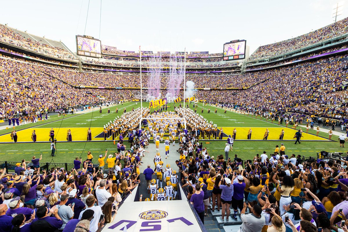 Congrats to 7 Tigers who received degrees in Fridays virtual graduation ceremony! #LSUGrad #ForeverLSU lsul.su/3dNgDcA (Correcting publication which inadvertently omitted WR @ColbyBrunet13.)