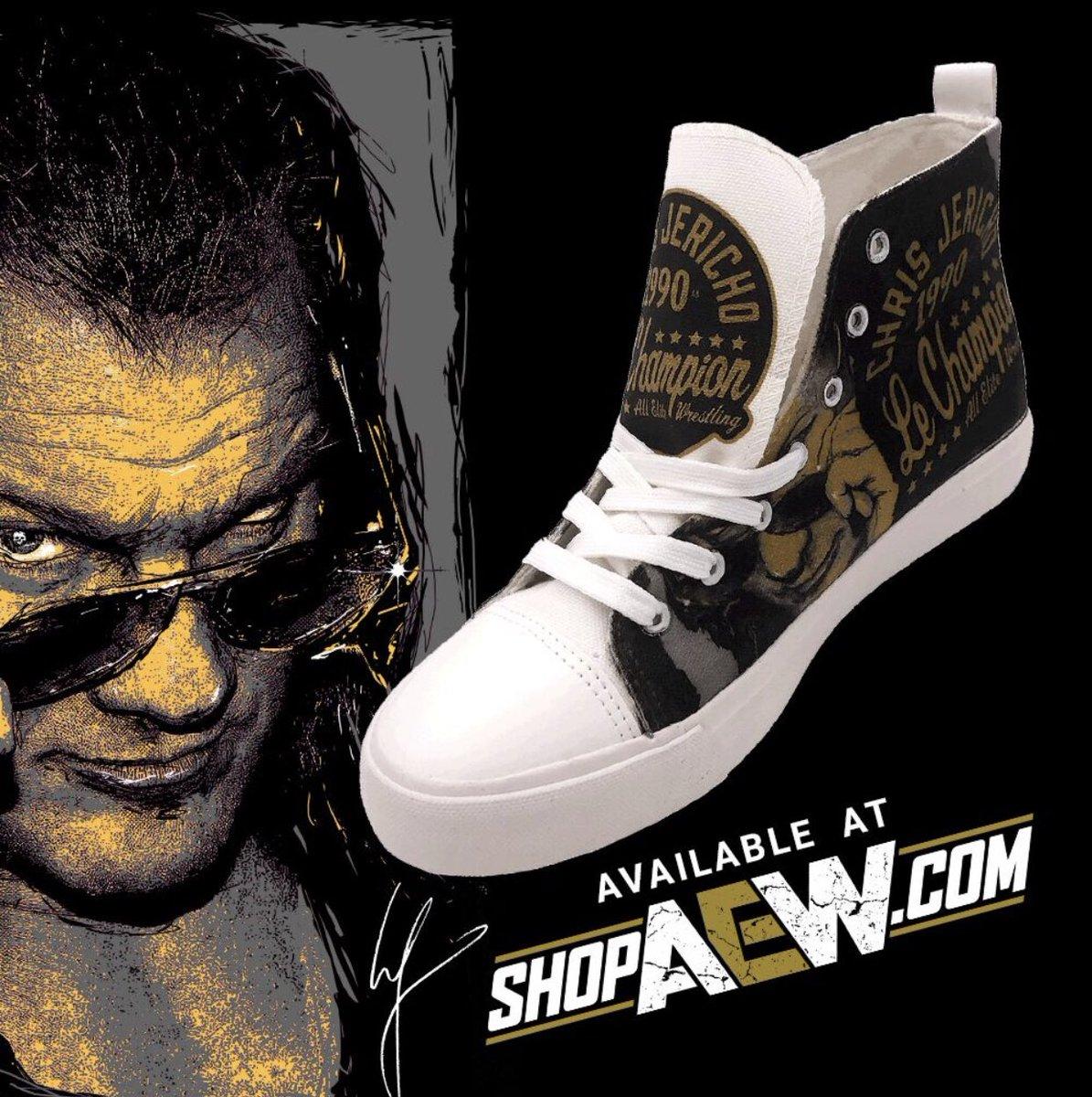 AEW Releases New Custom Sneakers