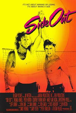 Our #SportsFlixFriday #POTD is now 30 years old & is the only #volleyball #Romcom ever made! W-@kathyireland, #CThomasHowell & #CourtneyThorneSmith (pre-melrose place), 1990's #SideOut has the distinction of sharing @kennyloggins song w-1986's #TopGun...in the same type of scenepic.twitter.com/ILCJqWXwpf