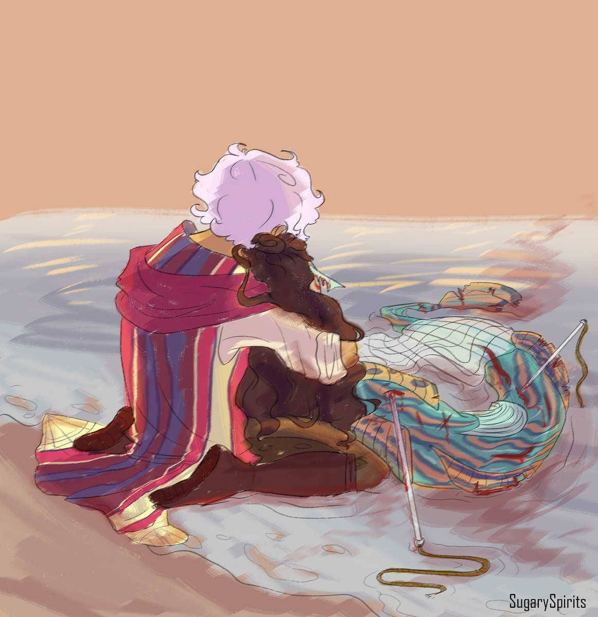 Uh oh, sad time for Mermaid au #TheArcanaGame #fanapprentice #asrathemagician pic.twitter.com/35JAcQPppO