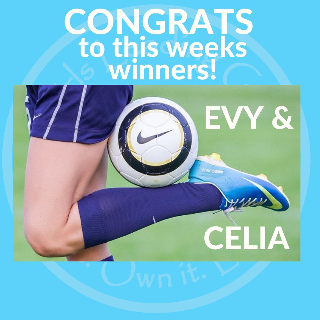 Celia won our #LeadershipChallenge for sharing her 2-4 year goals of writing scenes for a play/movie & get an acting agent! Evy killed our #skilloftheweek with 31 roll step over combos in 1 minute! Congrats ladies! #soccerskills #soccerdrills #girlsleadinggirls #soccergirl https://t.co/FxPHmGvHMX