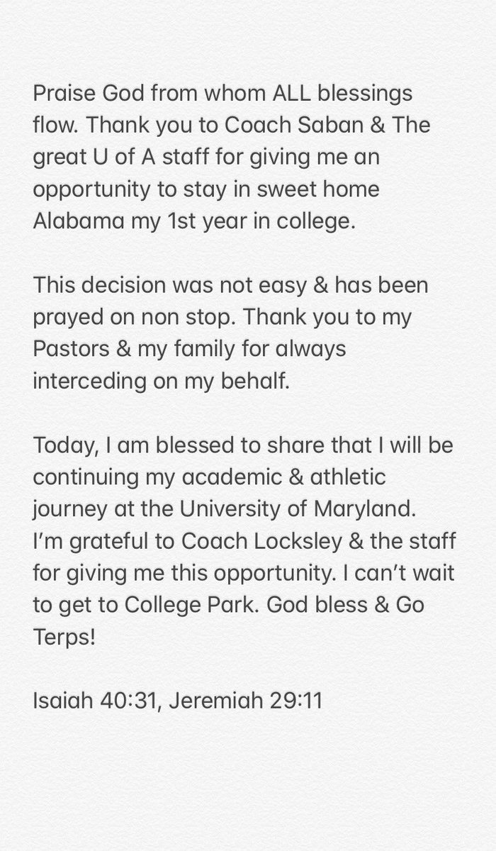 God bless! #GoTerps