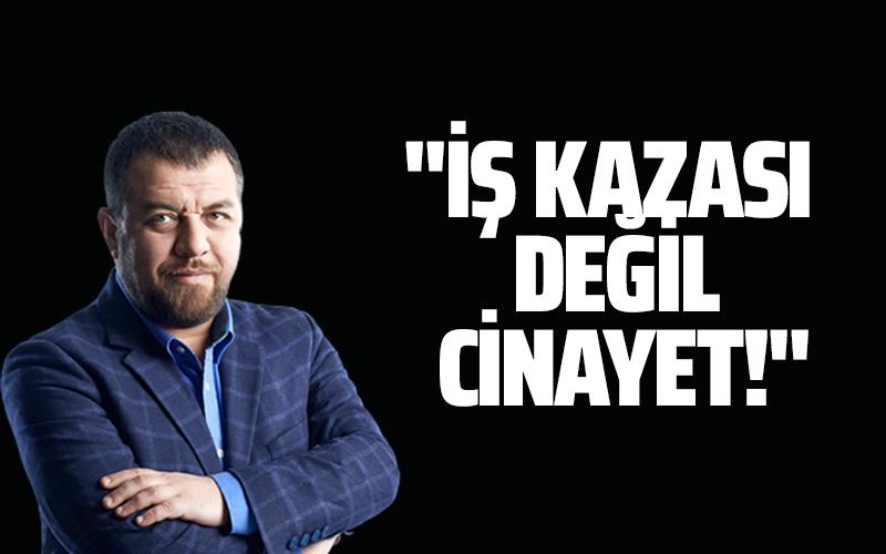 ''İŞ KAZASI DEĞİL, CİNAYET!'' #İsmailKılıçarslan https://t.co/tiyUyI103U  @kilicarslan_is https://t.co/CT623qJIkr