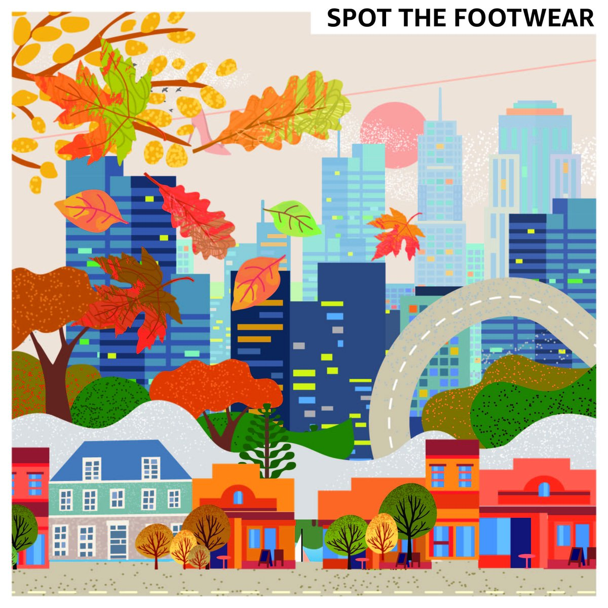 Fashion is everywhere! Can you spot the footwear  that's hidden in this image? Let us know in the comments below!   #stayinisthenewgoingout #AmazonFashion #TogetherForIndia #AmazonLoves #HarPalFashionable #StayHome #StaySafe #StayStrongpic.twitter.com/12gOSlWfSI