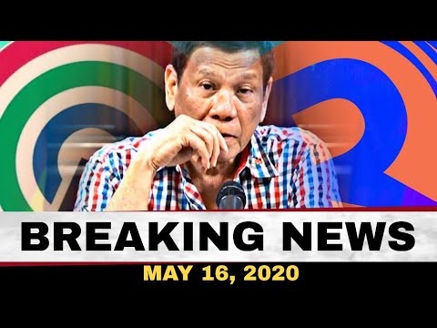 BREAKING NEWS MAY 16, 2020/ ATTY PANELO/ MARIA RESSA/ BANAT BY SINUPALPAL ANG RAPPLER AT ABSCBN -  (2020)