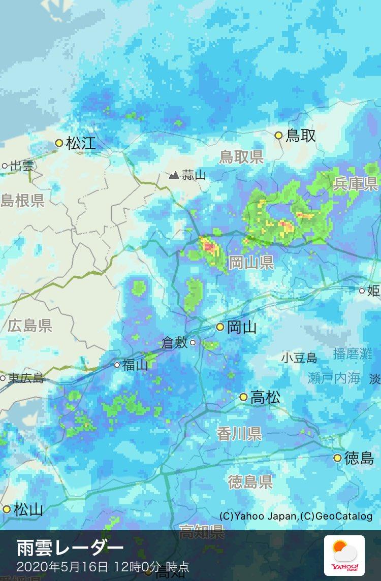 天気 雨雲 レーダー 出雲