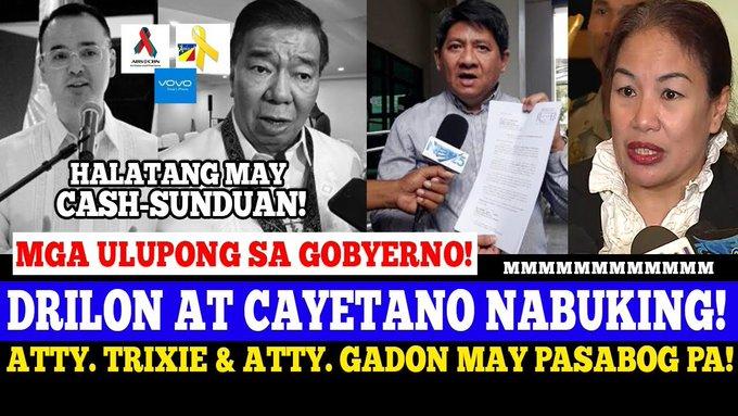PERA-PERA LANG ang SABWATAN ni CAYETANO at DRILON sa ABS CBN FRANCHISE BINULGAR ni ATTY. LARRY GADON -  (2020)