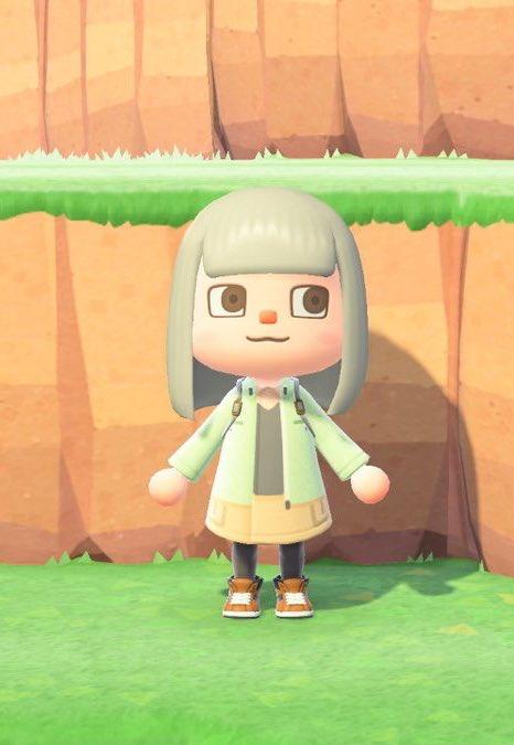 雪村あおいちゃんのマイデザインアップしました!ポケットの位置とか修正してます。 #どうぶつの森 #マイデザイン #ヤマノススメ