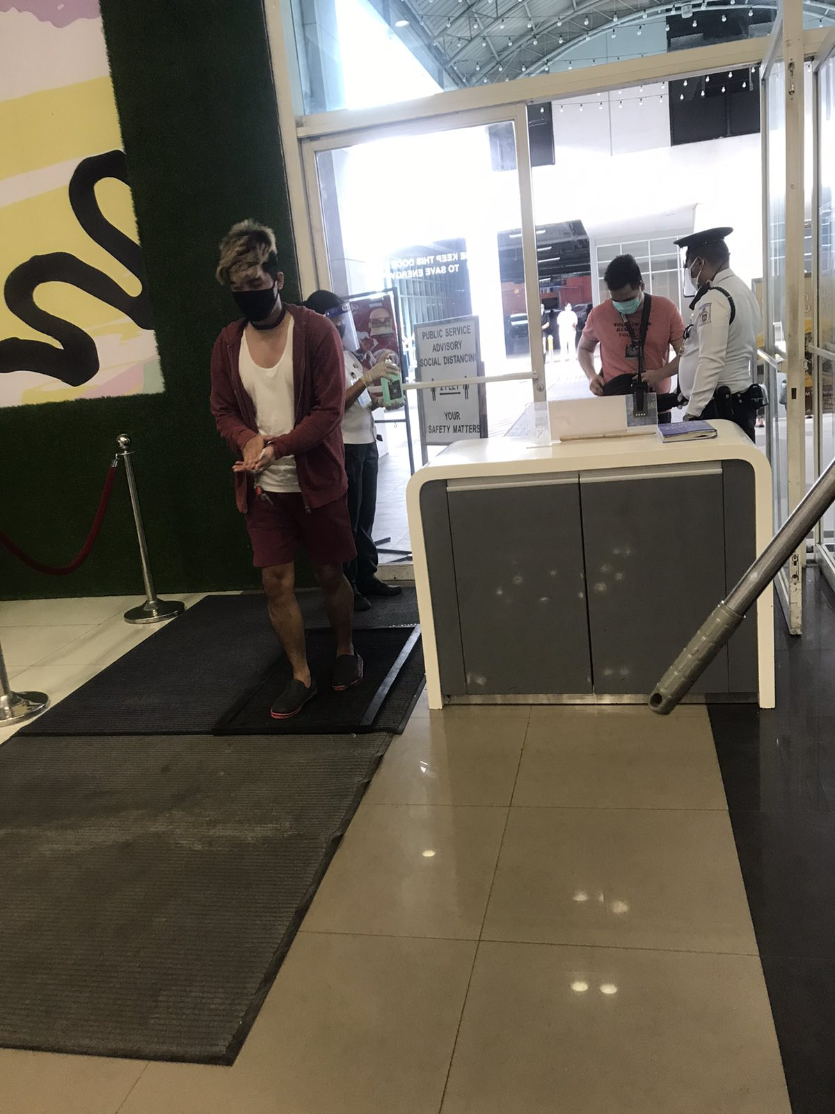 Shoppers Back In Malls As Quarantine Restriction Eases