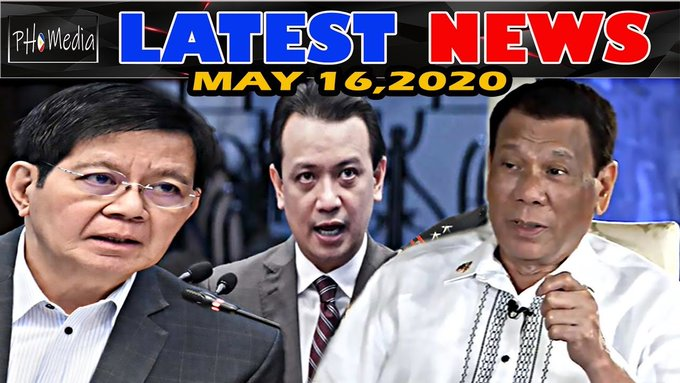 LATEST NEWS NGAYON MAY 16 2020 PRES DUTERTE | SEN LACSON | TRILLANES | MAYOR ISKO MORENO -  (2020)