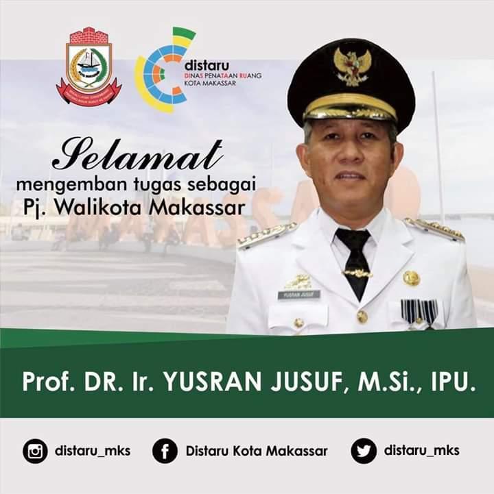 Selamat bekerja Bapak Pj. Walikota Makassar Prof. DR. Ir. YUSRAN YUSUF, http://M.Si., IPU.  #CleanComfortContinuity #MakassarGreenCity #Makassar #MakassarCity #distarumakassar #tataruang #rdtr #penataanruangpic.twitter.com/Fd9CPJyB1i