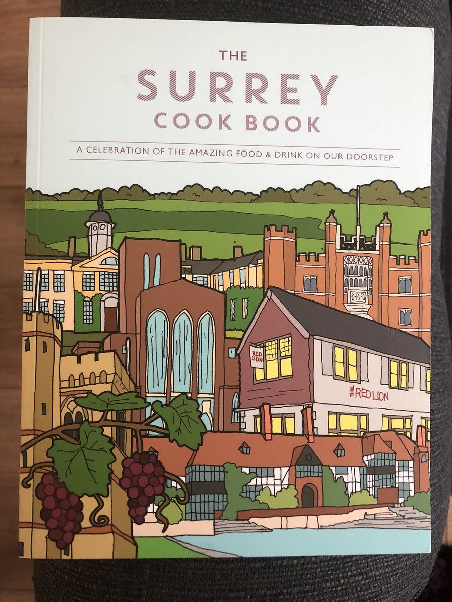 So happy to finally have my own copy of @SurreyCookBook @mezepublishing thank you @Jonandrews01 for buying for me 🙋♀️ after interviewing some of the lovely people who feature in the book on my @RadioWoking #LaraOnSunday show I can now put many of the wonderful recipes to test! 🥰 https://t.co/y9HBMZGMd7
