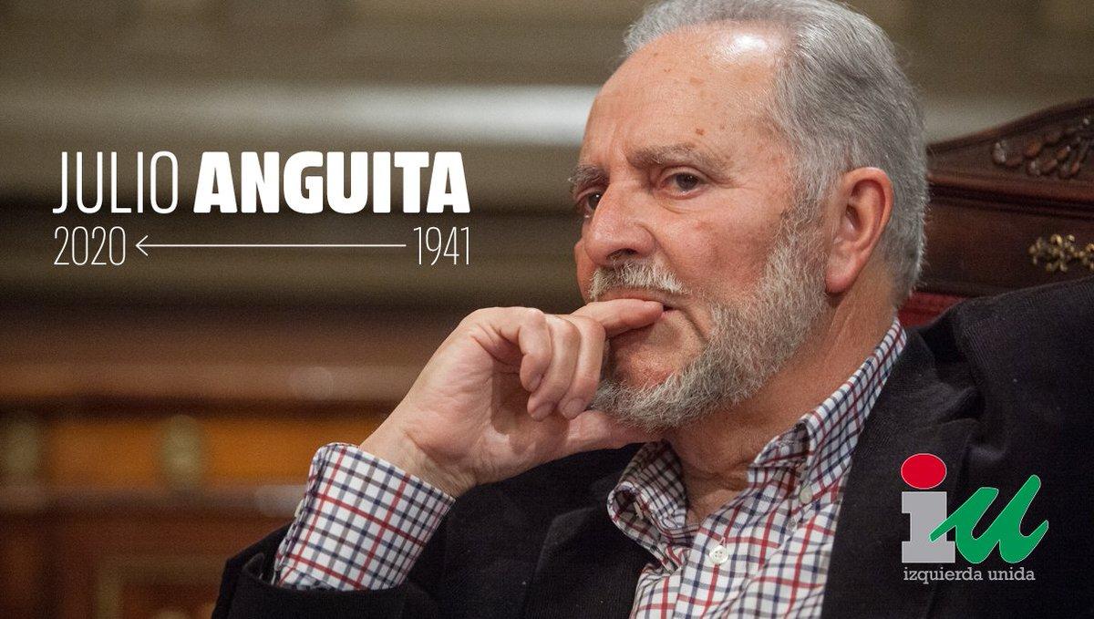Nos llega la peor de las noticias. El compañero y maestro Julio Anguita nos ha dejado a los 78 años. Un político honrado, una mente brillante, un absoluto referente para la izquierda de este país. Que la tierra te sea leve, querido Julio. Continuaremos humildemente tu obra.
