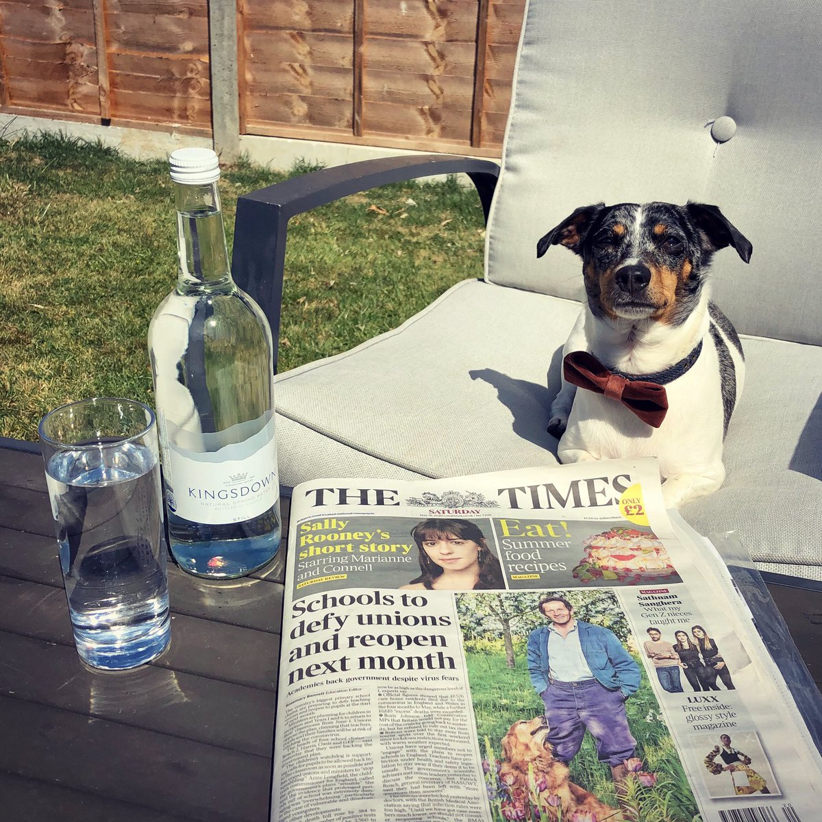 ☀️Take a peek in The Times paper today for an exclusive code to use on our new website 📰 #thetimes #satursdaypaper #SaturdayVibes #SaturdayMorning #promotion https://t.co/TkqQx3VJJ0
