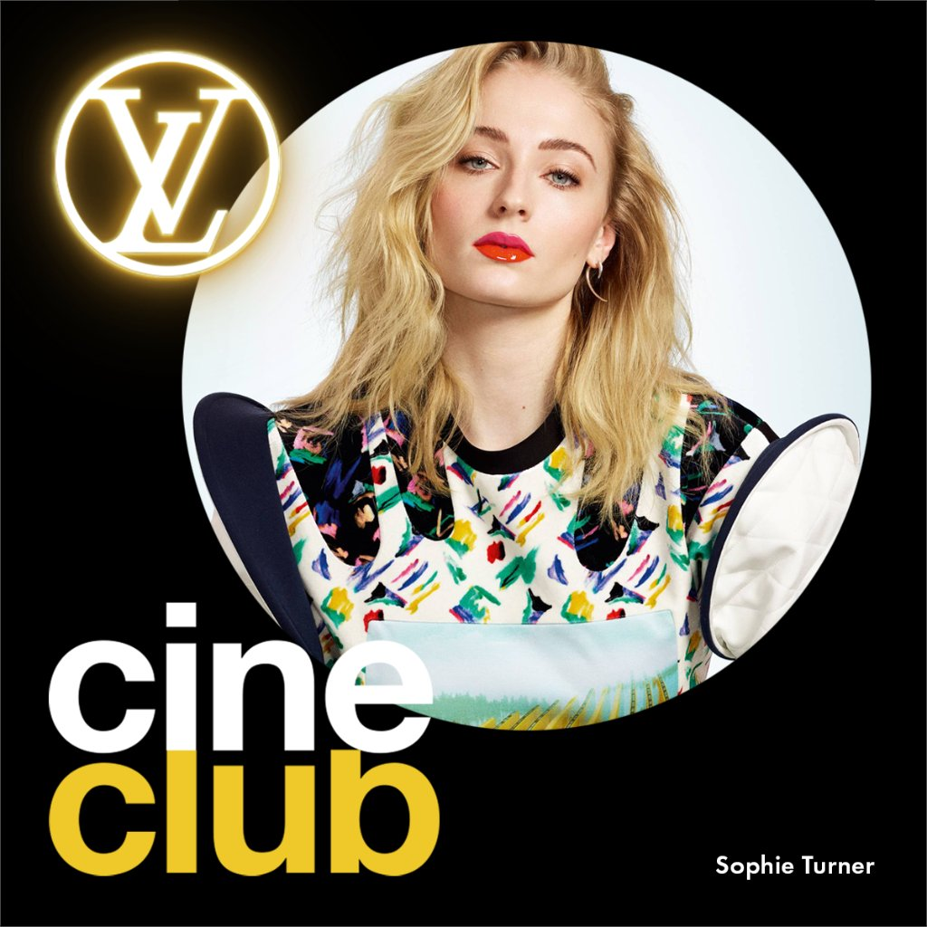LV Ciné Club with #SophieTurner #LouisVuittons ambassadors are sharing a current selection of movies and series to watch while at home. Discover Sophies picks.