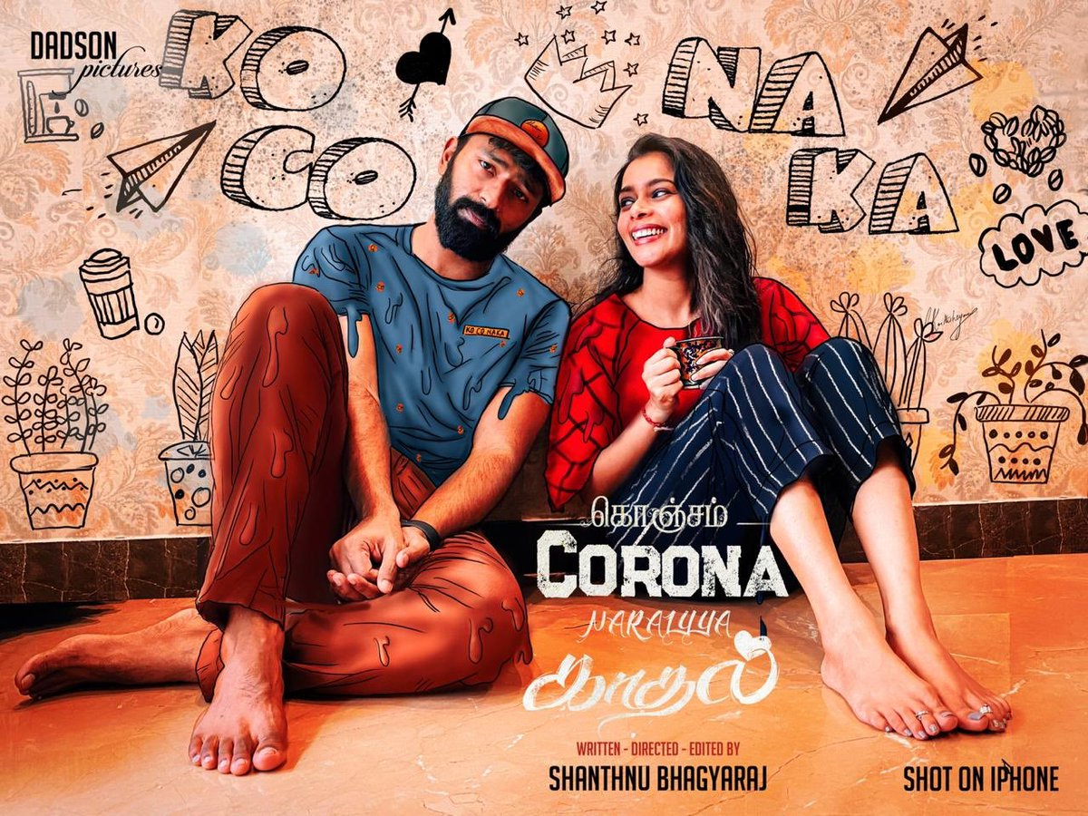 Brother director in u 😍😍😍 Rocking guys  #KoCoNaKa Short film  👇 https://t.co/Ip9Y7ZIbAX  Ft. @imKBRshanthnu & @KikiVijay   Congrats for your Youtube channel #WithLoveShanthnuKiki Marakkaama ellarum 'Subscribe' pannunga💛 #KonjamCoronaNaraiyyaKadhal https://t.co/OkcfxGczxI