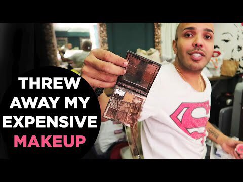 Want to know why @shaanmuofficial threw alway his expensive makeup? Watch his video to find out.