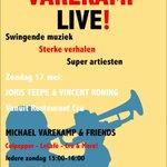 Image for the Tweet beginning: 17 Mei! VarekampLive! Sferen van