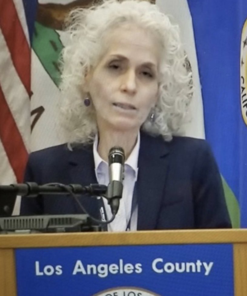 No disrespect to the health director of Los Angeles, but this might be the last person I'd ever take health advice from.  She looks like she chose poorly in Indiana Jones. https://t.co/dztzZQosCp