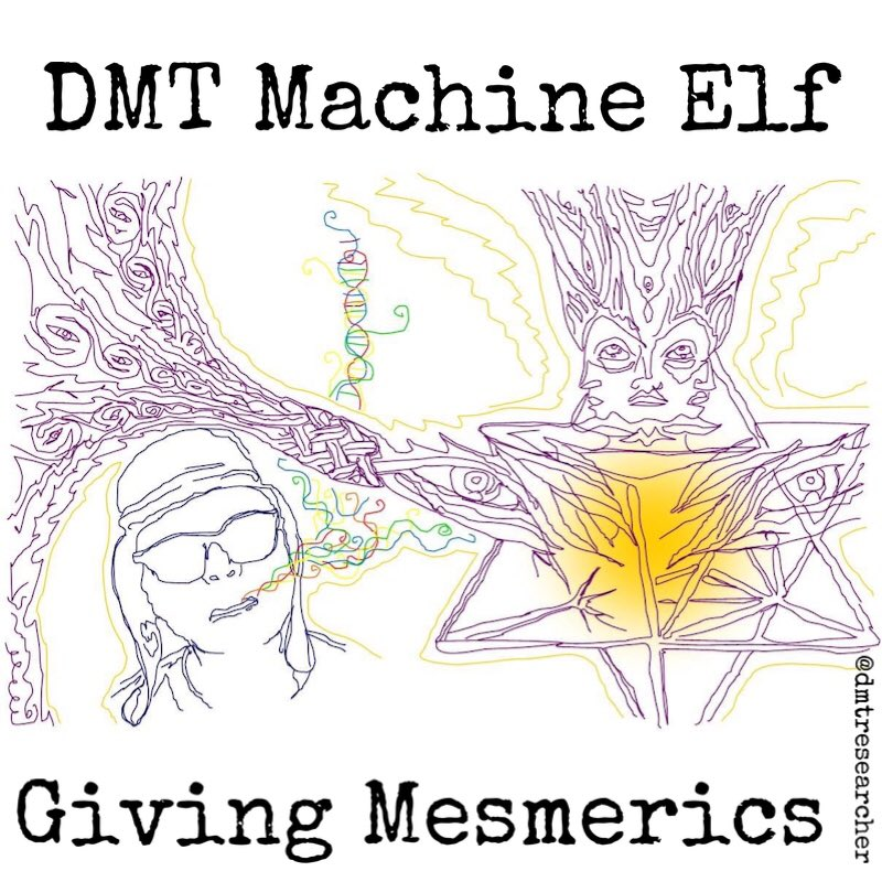 🙏 @woz_cat for this 'Dick Khan & DMT Machine Elf' line drawing. The #DMT entities maintain an Occult interpretation of the experience will ultimately prove the most accurate and most meaningful. Woo today! Science of the unseen and immeasurable tomorrow! https://t.co/uhNthZ8DPq