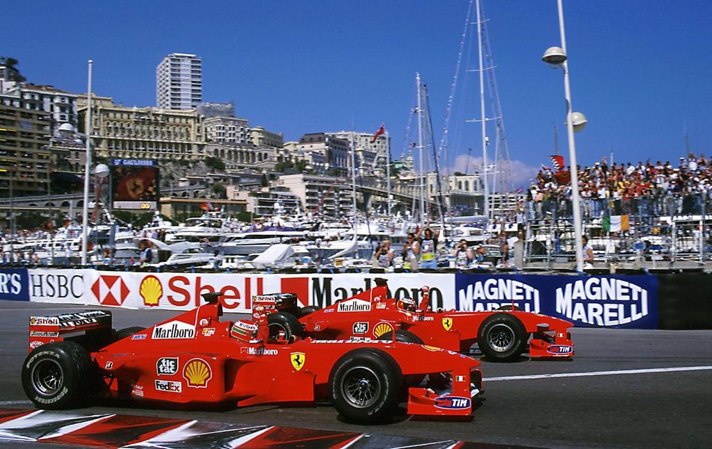 #OTD in #F1 : Two Ferrari one-twos #MichaelSchumacher and #EddieIrvine celebrated a #Ferrari one-two at the 1999 #MonacoGP 23 years earlier, Ferrari took another one-two, #NikiLauda and #ClayRegazzoni were victorious at the 1976 #BelgianGP https://t.co/FEP9pT3DrD https://t.co/bBQkb9r1AT