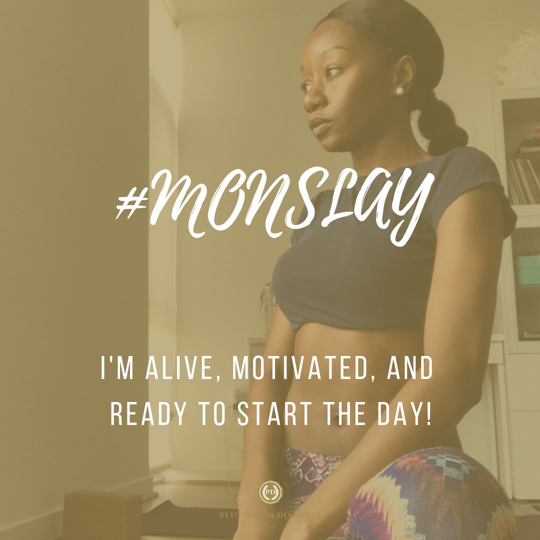 What do you do to keep yourself motivated for the day? #Monslay #Monday #PlutoniumDiamondHair  #beautifulhairstyle#fabulous#luxury#glamour #diamonds#plutoniumdiamonds#curls #extensions #frontals #goodhair #yoga #hair#vacation#fun #hairofinstagram#beauty#beautifulhairpic.twitter.com/48BM2U52PS