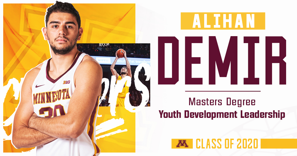 Our next @UMNews grad is @AlihanDemir who earned his masters degree after one year in Maroon and Gold.  #UMNProud x #HailtoThee2020 https://t.co/wIgoMG3qLt