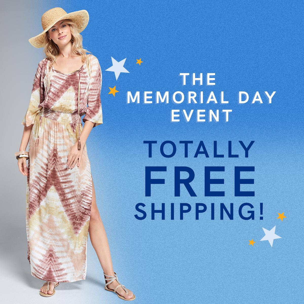 The Memorial Day Event is here and yes, that's right: TOTALLY FREE SHIPPING all weekend long! https://t.co/djGdMMqEdn https://t.co/RRIM399a7G