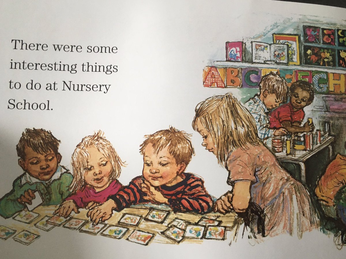 ...When it's safe, I really want my son back at Nursery but I know it won't look like this for some time.